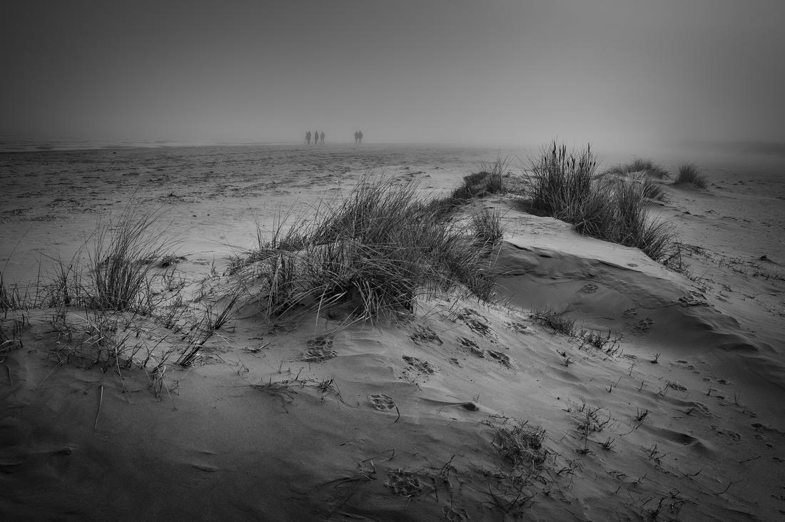 Ein Wintertag am Strand